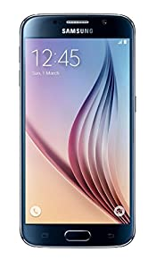 Samsung Galaxy S6 Andriod Smartphone SIM Free - Sapphire Black (Certified Refurbished)