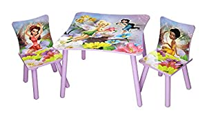 Disney Fairies TABLE AND 2 CHAIR SET