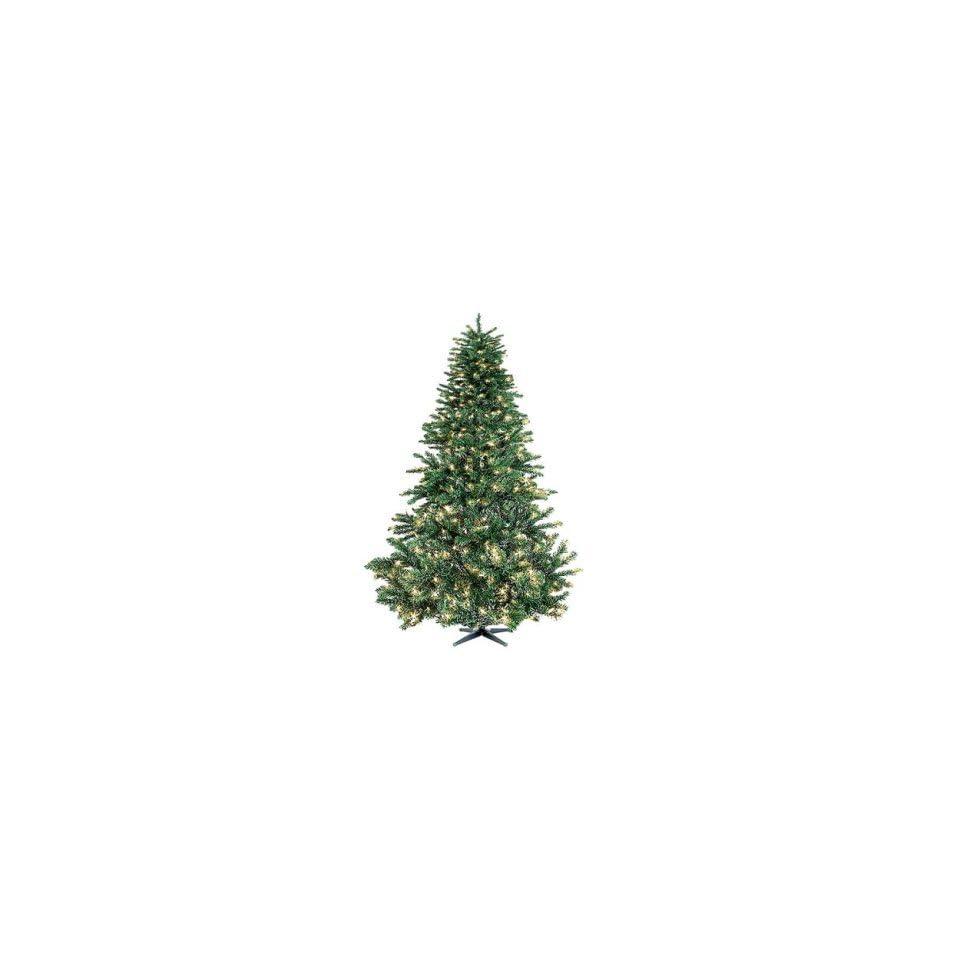 Color Pre Lit Artificial Colorado Pine Christmas Tree
