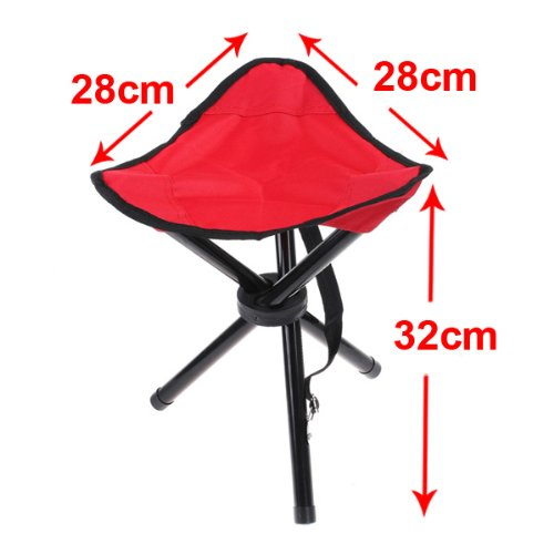 Portable Folding Outdoor Camping Camp Stool Tripod Chair