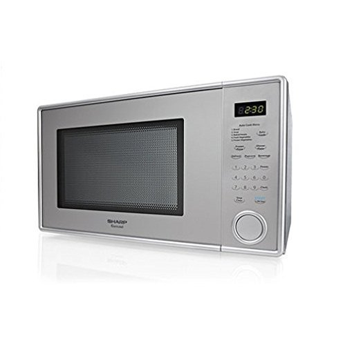 Sharp 1.1 cu. ft. Stainless Steel Countertop Microwave by Sharp