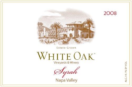 2008 White Oak Napa Valley Syrah