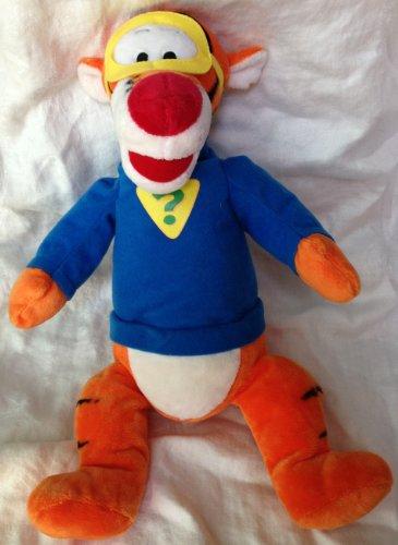 "Disney My Friends Tigger & Pooh - Sleuth Tigger 15"" Plush Doll Toy - 1"