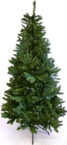 Evergreen Spruce 7ft (213cm) Artificial Christmas Tree (Hinged)