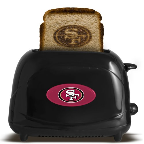 NFL San Francisco 49ers Pro Toaster Elite at Amazon.com