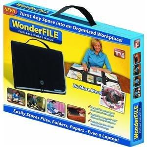WonderFile - Portable & Foldable Organization Workstation