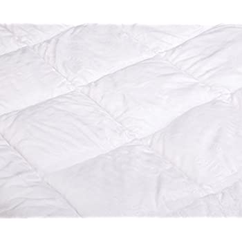Pinzon Hypoallergenic Overfilled Microplush Mattress Topper - Queen