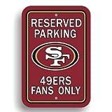 San Francisco 49ers Parking Sign – Set of 2