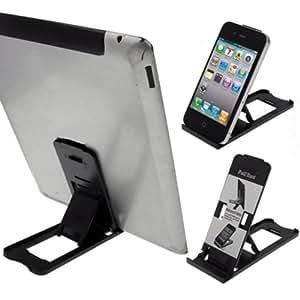 LUPO Universal pliant réglable en plastique Support de bureau pour tous les iPads, iPhones, tablettes et téléphones