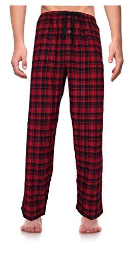 RK Classical Sleepwear Men's 100% Cotton Flannel Pajama Pants, Size XXX-Large (Men Plus Pants compare prices)