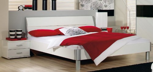 Bett-140-x-200-cm-inkl-Nako-Set-in-Alpinweiss-Nachbildung