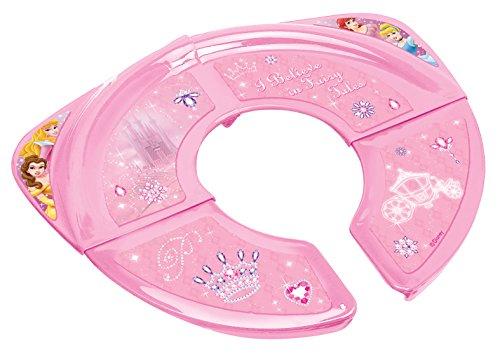 Disney - Riduttore per WC, pieghevole, motivo principessa