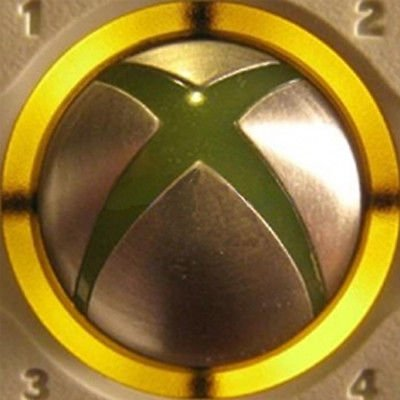 Video Games Accessories : Xbox 360 Console Controller Led Mod Ring Of Light Spare Parts Replacement Decoration (Yellow)