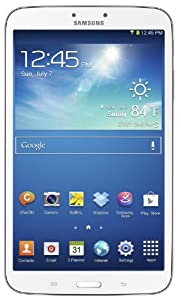 Samsung Galaxy Tab 3 (8-Inch, White) 2013 Model (Certified Refurbished) from Samsung