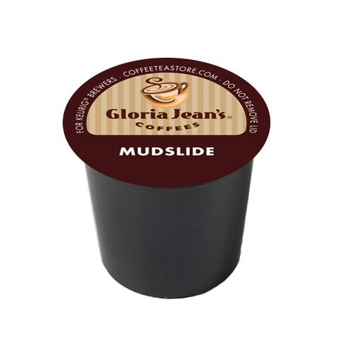 Gloria Jean's Medium Roast K-Cup for Keurig Brewers, Mudslide Coffee (Pack of 96)
