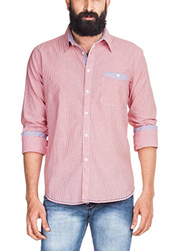 Zovi Men Regular Fit Cotton Shirt