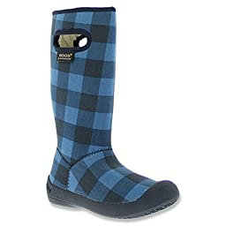 Bogs Kids Blue Multi Summit Buffalo Plaid 10.0 B(M) US Toddler