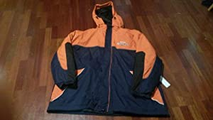 New! Denver Broncos Double Jacket Navy Blue 5XL by nfl