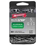 Arrow RLFA3/16IP Long Large Flange Aluminum 3/16-Inch Rivets, 30-Pack