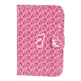 Tuc Tuc Pink Print Baby Passport Holder, Kids Documents Folder. Natural Berries Collection.
