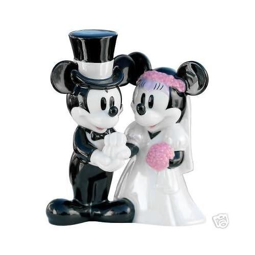 Amazon Retired Disney Mickey Amp Minnie Mouse Wedding Cake Topper