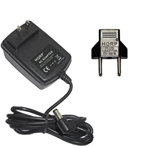 hqrp ac adapter power supply for yamaha psr 273 psr273. Black Bedroom Furniture Sets. Home Design Ideas