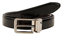 Nautica Men's Reversible Belt,Black/Brown,32