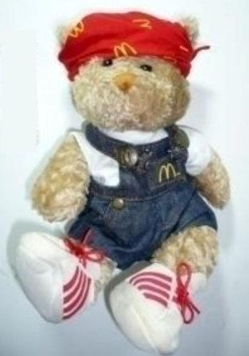 McDonald's I'm Lovin' It Flava Fresh Teddy Bear Plush - 1