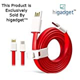 #3: HigadgetTM-USB Type C Cable Type C for OnePlus Two One Plus Two OnePlus 2 oneplus 3 Nexus 5X Nexus 6P New Macbook 12 inch ChromeBook Pixel Nokia N1 Tablet Asus Zen AiO Letv 1S letv 2 and Other Devices with Type C USB all usb type c devices- A+ Quality