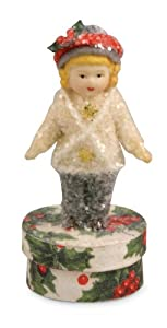 OUT FOR EVENING Girl Figurine Bethany Lowe Christmas