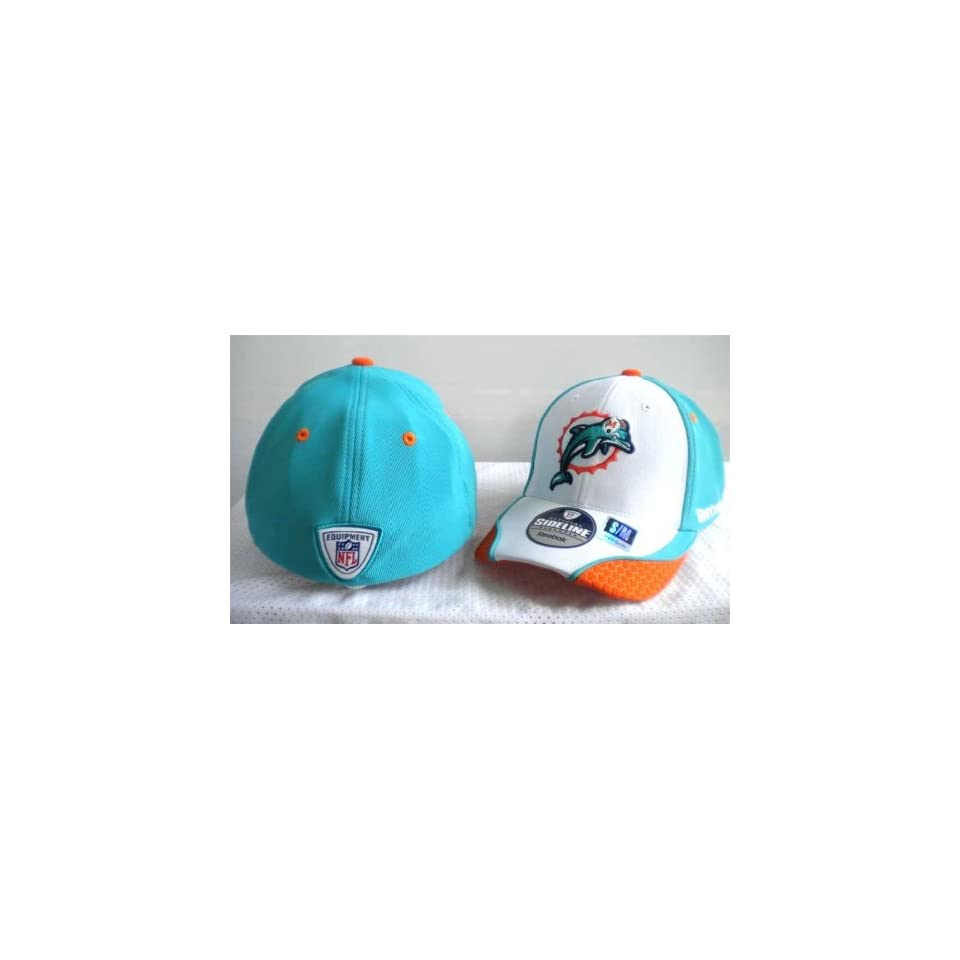 NFL Mens Sideline Draft Hat Miami Dolphins S M on PopScreen 89bc0a1c2