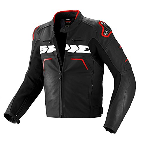 Spidi P157 - 011 Moto Giacca in pelle evorider Leather