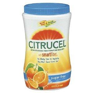 Citrucel - Sugar Free Fiber Therapy For Regularity, Methylcellulose, Orange Flavor 32 Oz (907 G)