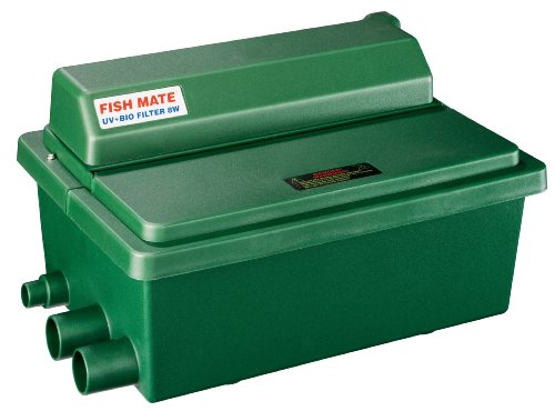 Fish mate 500guv gravity uv bio pond filter ennalbelaldroth for Gravity fed pond filter system