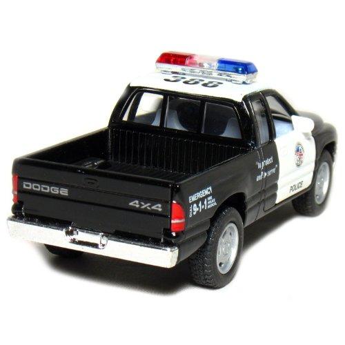 5 Dodge Ram Police Pickup Truck 1 44 Scale Black White