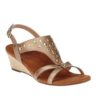 Orthaheel Vionic By Orthaheel Women's Catarina Sandals (5 B(M) Us, Bronze)
