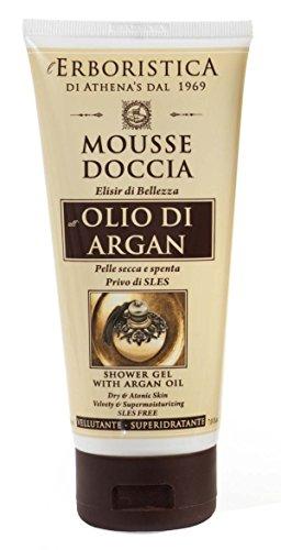 mousse doccia all'olio di argan 200 ml