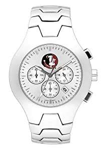 Florida State Seminoles Hall Of Fame Sterling Silver Watch by Logo Art