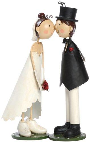 BIS 3152 Tortenfiguren, Knutschis Brautpaar klassisch