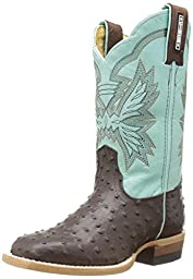 Cinch Gavin Boot (Toddler/Little Kid/Big Kid),Brown/Mint,9.5 M US Toddler