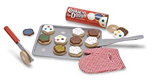 Melissa & Doug Slice and Bake Wooden Cookie Set