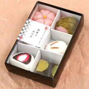 和菓子マグネット 和菓子詰め合わせ (桜・兎饅頭・栗羊羹・苺大福・桜餅)  MGW005503