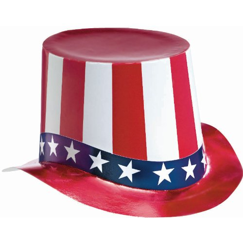 Red, White and Blue Foil Hat