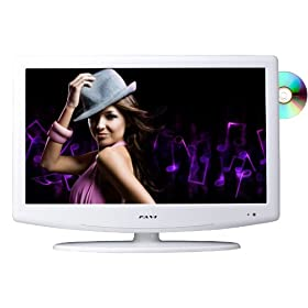 FAVI L2626EA2-V-WH 26-Inch 720p LCD HDTV with Built-in DVD Player/USB, White