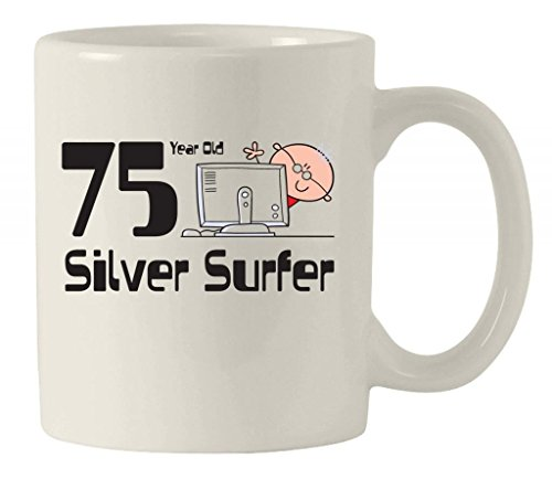 Silver Surfer Men's-Tazza in ceramica di auguri