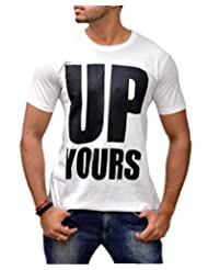 Londonhouze Men's Round Neck Cotton T-Shirt - B00M1SS2QS