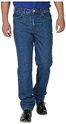 KILLER Men's Regular Fit Jeans (2122 C/F DMX_36, Blue, 36)