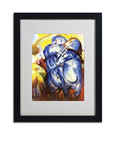 "Franz Marc ""A Tower of Blue Horses 1913"" Artwork"