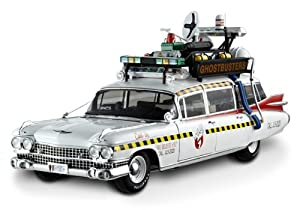 "1959 Cadillac Ambulance Ecto-1A From ""Ghostbusters 2"" Movie Elite Edition 1/18 by Hotwheels X5470"
