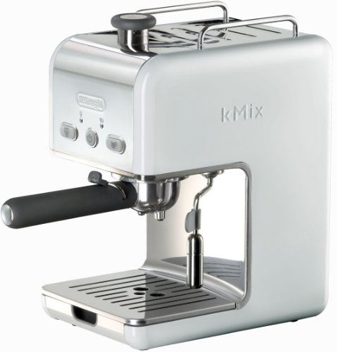DeLonghi Kmix 15 Bars Pump Espresso Maker, White Best Deals